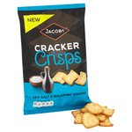 Jacob's Cracker Crisps Sea Salt & Balsamic Vinegar