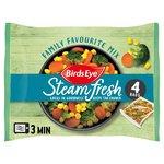 Birds Eye Steamfresh 4 Family Favourites Mix Frozen