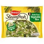 Birds Eye Steamfresh 2 Rice with Tender Green Veg Frozen