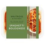 Waitrose Spaghetti Bolognese