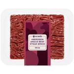 Ocado Gold Angus Lean Beef Steak Mince 5% Fat