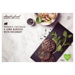 Daylesford Organic Wild Rosemary & Nutmeg Lamb Burger