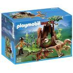 Playmobil Deinonychus and Velociraptors 4+