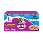 Whiskas Cat Tins Fish In Jelly