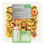 Waitrose Cous Cous & Roasted Vegetable Salad