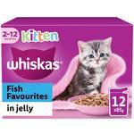 Whiskas Kitten Pouches Fish in Jelly