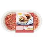 Waitrose 4 Chilli & Cheese Steak Burgers