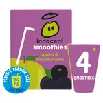 Innocent Kids Apple & Blackcurrant Smoothies
