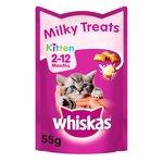 Whiskas Kitten 2-12 Months Milky Treats
