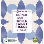 Ocado White Toilet Tissue