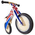 Kiddimoto Union Jack Kurve Balance Bike 3+