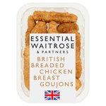 Essential Waitrose British Chicken Breast Goujons