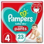Pampers Baby Dry Pants Size 4 Carry Pack 23 per pack
