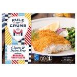 Rule of Crumb Breaded Cod Fillets