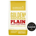 W&H Marriage Golden Wholegrain Plain Flour