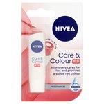 Nivea Lip Care & Colour Red