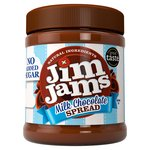 JimJams 83% Less Sugar Milk Chocolate Spread