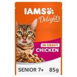 Iams Delights Senior Chicken in Gravy Pouch