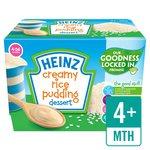 Heinz Creamy Rice Pudding Dessert Pots