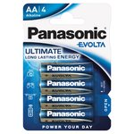 Panasonic Evolta High Premium Alkaline AA Batteries