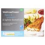 2 Spicy Aromatic Lightly Dusted Cod Waitrose