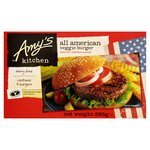 Amy's Kitchen All American Veggie Burger Frozen