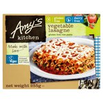 Amy's Kitchen Gluten Free Dairy Free Vegan Vegetable Lasagne Frozen