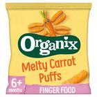 Organix Finger Foods Organic Crunchy Carrot Sticks