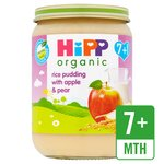 HiPP Organic Rice Pudding with Apple & Pear