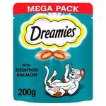 Dreamies Cat Treats Salmon Mega Pack