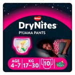 Huggies 4-7 years DryNites for Girls