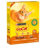 Go-Cat Complete Adult Cat with Turkey & Added Vegetables