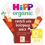 HiPP Organic Ravioli in Bolognese Sauce