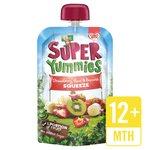 Super Yummies Strawberry, Kiwi & Banana Squeeze Pouch
