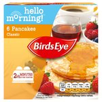 Birds Eye 6 Classic Pancakes Frozen