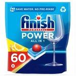 Finish All in 1 Max Dishwasher Tablets Lemon