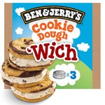 Ben & Jerry's Wich Cookie Dough Ice Cream Sandwich