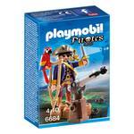 Playmobil Pirates Captain 4 +