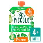 Piccolo Organic Spring Greens with Hint of Mint