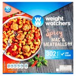 Weight Watchers Spicy Mac & Meatballs