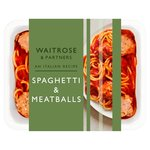 Waitrose Spaghetti & Meatballs