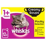 Whiskas 1+ Cat Pouch Creamy Soup Poultry