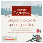 Belgian Chocolate Sponge Pudding Waitrose