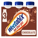 Weetabix On The Go Drink Chocolate Multipack