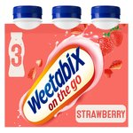 Weetabix On The Go Drink Strawberry Multipack
