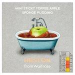 Heston from Waitrose Sticky Toffee Apple Sponge Pudding