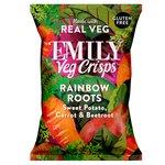 Emily Veg Crisps Crunchy Mixed Roots