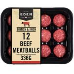 Eden 12 Hereford Beef Meatballs