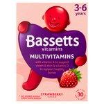 Bassetts Multivitamins, 3-6 Years, Strawberry