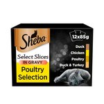 Sheba Select Slices Pouch Poultry Gravy
